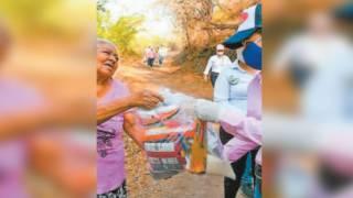 Dan en Ayala apoyo alimentario a vulnerables por pandemia del COVID-19 2