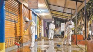 Sanitizan la colonia Antonio Barona, en Cuernavaca 2