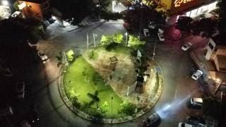 Mejoran iluminación de Glorieta de la Barona, en Cuernavaca 2