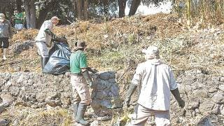 Ataca el fuego en área de barrancas de Morelos 2