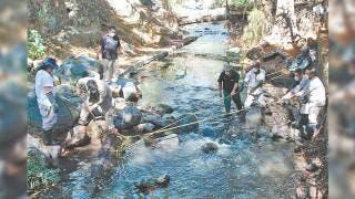 Desazolvan barrancas en Cuernavaca 2