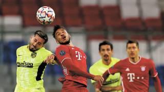 Bayern goleó al Atlético de Madrid 2