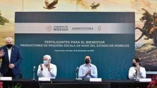 """Arranca en Morelos programa """"Fertilizantes para el Bienestar"""" 2"""