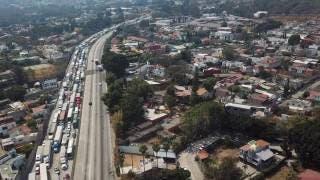 Fueron más de 9 horas de caos por bloqueo en el Paso Express Cuernavaca 2