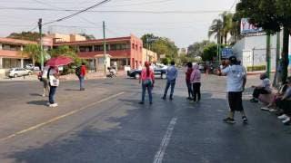 Nuevo bloqueo en Cuernavaca, por falta de agua, colapsa vialidades 2