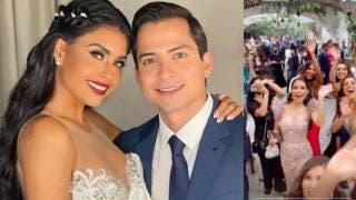 Conductora de Venga la Alegría se casa en Cuernavaca en medio de pico contagios de COVID19 2