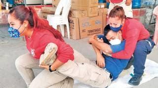 Capacitan a elementos de bomberos y PC en Jojutla Morelos 2