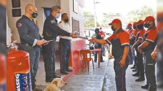 Destacan la labor de los bomberos en Morelos 2
