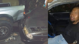 Pasado de copas, choca su auto en la Lagunilla, Cuernavaca 2