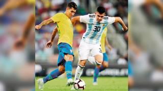 Brasil vence a Argentina en Clásico Sudamericano 2
