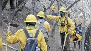 Logran liquidación del 90% del incendio en el Parque Nacional El Tepozteco 2