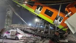 Trece muertos por colapso de vagones del metro en CDMX 2