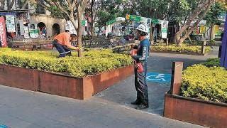 Cierran calles del Centro de Cuernavaca por seguridad 2