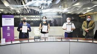 Anuario: Aportan 31.5 mdp a cámaras de seguridad en Morelos 2