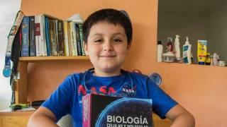 Carlos Santamaría Díaz, niño genio que estudió en Cuernavaca, ahora lo hará en Mérida 2