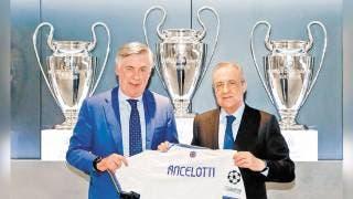 REAL MADRID PRESENTA A ANCELOTTI 2