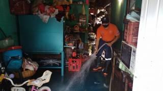 Unas 45 viviendas y comercios afectados, saldo de las inundaciones en Tepoztlán 2