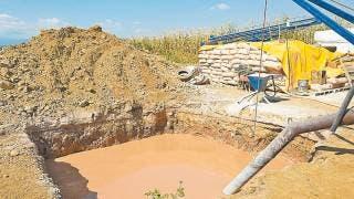 En Morelos, con pozos garantizan agua para cultivos 2