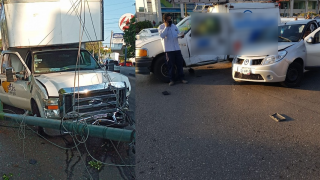 Camioneta sin frenos provoca choque múltiple en la avenida Domingo Diez, de Cuernavaca 2