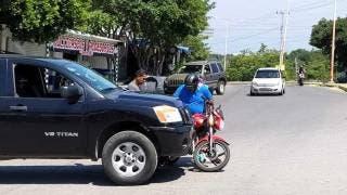 Colisionan contra moto en Xochitepec 2