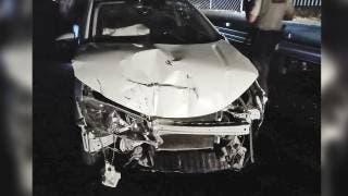 Arrolla a motociclista y destroza su auto contra barra en Xochitepec 2