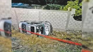 Mujer pierde la vida en aparatoso choque 2