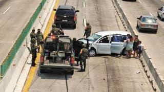 Fotonota: Pierde conductor en carriles centrales del Paso Express 2