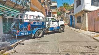 Choca pipa de gas contra vivienda en Cuernavaca 2