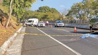 Muere atropellado un joven en la autopista México-Cuernavaca 2