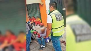 Sale lesionado chavito al chocar en su moto en Cuautla 2