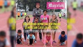 Impulsan clases de atletismo para niños...
