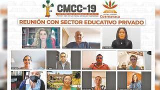 Hacen frente contra COVID19 escuelas y Ayuntamiento de Cuernavaca 2