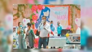 Festeja alcalde de Coatlán del Rio a las madres en su día 2