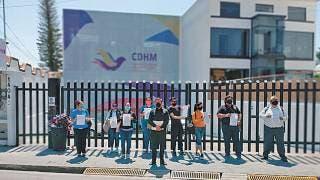 Docentes presentan queja ante CDHEM 2