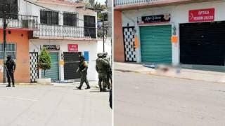 """Era colombiano de los de """"gota a gota"""" el asesinado hoy en la Barona, de Cuernavaca 2"""