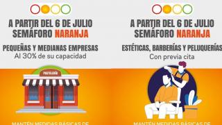 Así abrirán comercios y negocios este lunes por semáforo naranja en Morelos 2