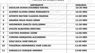 Inicia pasarela de aspirantes a comisionados del IMIPE en Morelos 2