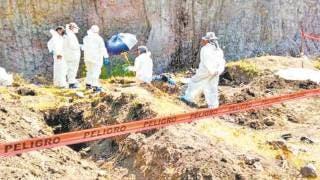 Confirma FGE hallazgo de fosas en Morelos 2