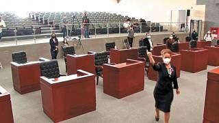Suspenden sesión del Congreso de Morelos 2