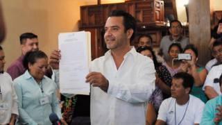Es Antonio Villalobos alcalde electo de Cuernavaca, de manera oficial
