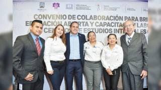 Materializan convenio por la educación en Morelos 2