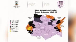 Saltan 460 casos de COVID-19 en últimas 24 horas, en Morelos 2