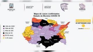 Rebasa Morelos seis mil casos de COVID-19 2