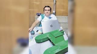 Estudiantes. Crean robot para limpieza de albercas en la UTEZ 2