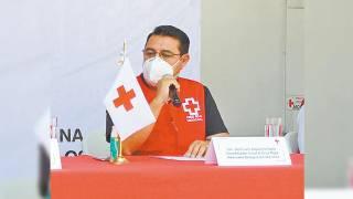 Todo el año será de colecta de la Cruz Roja en Morelos
