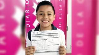 Y siguen llegando alumnos de 10 para salir en el Cuadro de Honor 2017 de Diario de Morelos