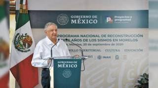 Brinda AMLO respaldo al gobierno de Cuauhtémoc Blanco 2