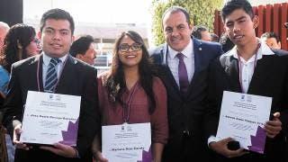 """Cuauhtémoc Blanco entrega """"Medalla Benito Juárez"""" 2"""