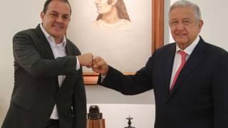 Tratan AMLO y Cuauhtémoc Blanco agenda económica y social de Morelos 2
