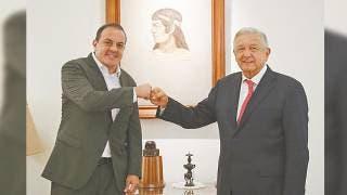 Revisan AMLO y Cuauhtémoc Blanco agenda de Morelos 2
